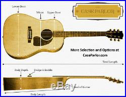 000 & OM Size Acoustic Guitar Hard Case FREE & FAST SHIPPING premium OOO