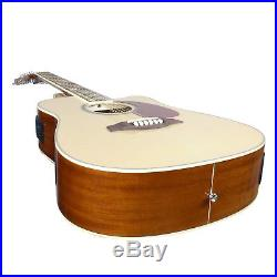 12 String Acoustic Electric Guitar Pack with Built-in Tuner EQ