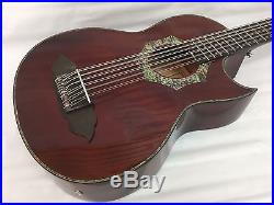 12 String Bajo Sexto Acoustic Electric Guitar, With Gig Bag