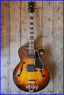 1949 Vintage Gibson 350 First Spec. Archtop Semi Acoustic & Hard Shell Case