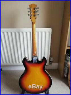 1960s audition semi Acoustic Electric Guitar