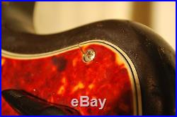 1966 12 String Fender Electric Xii, Guitar With Original Case. Hockey Stick Head