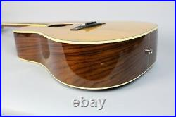 1973 BC Rich B-28 Vintage Acoustic Electric Flattop Guitar Natural withOHSC