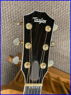 1999 Taylor 614CE 3-Piece Flamed Maple Back Acoustic/Electric Guitar with Case