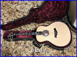 2013 Taylor 916E rosewood acoustic electric Guitar Grand Symphony w OHSC