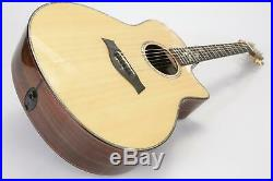 2014 Taylor 916ce Acoustic Electric Guitar Cindy Inlays with Case & Extras #39661