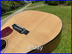 2018 Gibson J-45 Walnut AG Avant Garde Acoustic Electric Guitar with Martin String