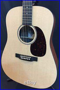 2020 Martin D-X1E Dreadnought Acoustic-Electric Guitar Natural with Gig Bag
