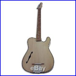 4 String Acoustic electric guitar handmade
