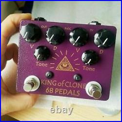 68pedals All Seeing Eye Overdrive king of clone pedal