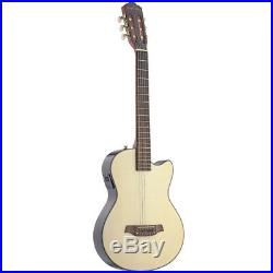 Angel Lopez 3000 Series Classical Spruce Top Acoustic Electric Guitar Natural
