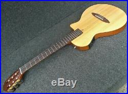 Antonio Hermosa AH-50 Chambered SOLID BODY Classical Acoustic Electric Guitar