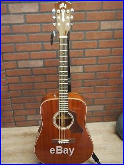 BEAUTIFUL Guild GAD-25NAT Acoustic Electric Guitar with Pickup, Gigbag