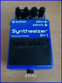 BOSS SY-1 Synth Guitar Pedal Mint condition Original box and instructions