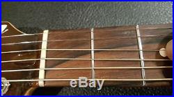 Beautiful Tom Anderson Crowdster Acoustic Electric Guitar with OHSC