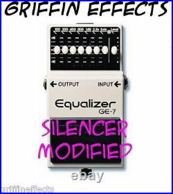 Boss GE-7 Equalizer Griffin Effects Silencer Modified Brand New & Improved