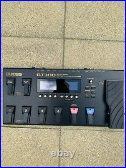 Boss GT-100 Multi-Effects Guitar Processor Pedal with Gator carry bag