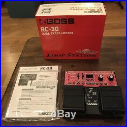 Boss RC-30 Loop Pedal, boxed with manual