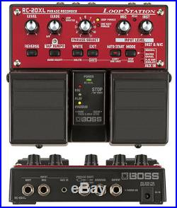 Boss Rc-20xl Loop Station Looper Pedal & Power Supply 3 30 50 300 505