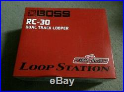 Boss Rc-30 Loop Station Looper Pedal- Barely Used