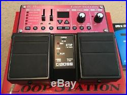 Boss Rc-30 Loop Station Looper Pedal New unwanted gift for Electric Guitar