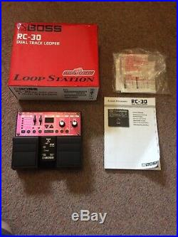 Boss Rc-30 Loop Station Looper Pedal Replaces Rc20xl