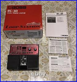 Boss Rc-30 Loop Station Looper Pedal Very Good Condition