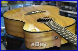 Breedlove Oregon All Myrtlewood Concerto E Acoustic Electric Guitar withOHSC NICE