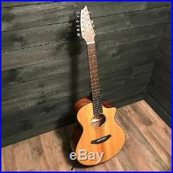 Breedlove Pursuit Concert CE 12 12 String Acoustic-Electric Guitar with Gigbag