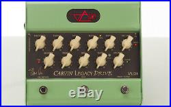 Carvin Legacy Drive VLD1 Steve Vai Signature Series all Tube Preamp Guitar Pedal