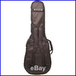 ChromaCast Pro Series Double Electric Guitar Padded Gig Bag Soft Case Backpack