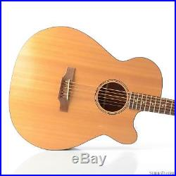 Danny Ferrington Baritone Acoustic Electric Guitar with Hardshell Case RARE #29671