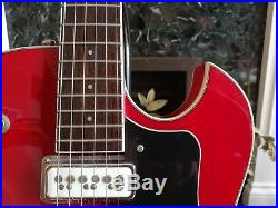 DeArmond Starfire Special Semi Acoustic Electric Guitar with with Bigsby Tremolo