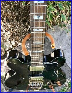 ES-335 Style Semi Hollow Body Acoustic Electric Guitar Mint Condition
