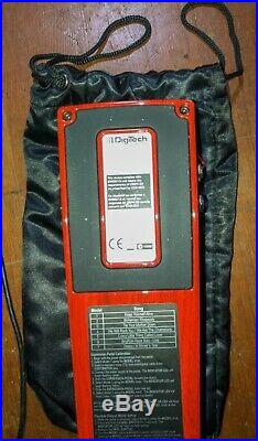 EXTREMELY RARE LIMITED EDITION Brian May Red Special Digitech Pedal