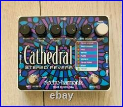 Electro-Harmonix EHX Cathedral Stereo Reverb Guitar Effects Pedal