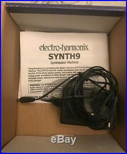 Electro Harmonix EHX Synth 9 Synthesizer Machine Guitar Effects Pedal
