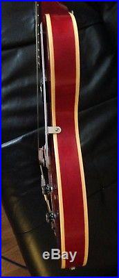 Epiphone Century Cherry Red Acoustic / Electric Guitar With Stagg Gig Bag