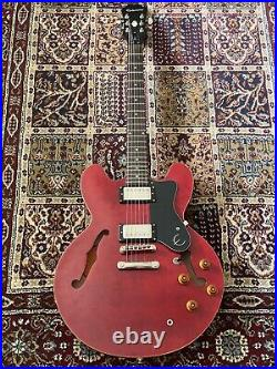 Epiphone Dot 2016 Model Cherry Red Semi Acoustic Electric Guitar