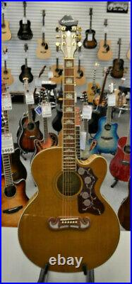 Epiphone EJ200 SCE Acoustic Electric Guitar Natural