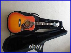Epiphone Hummingbird Pro Acoustic Electric Guitar- Case Included