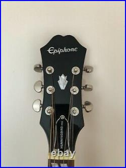 Epiphone Hummingbird Pro Acoustic Electric Guitar Faded Cherry + Accessories