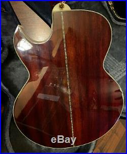 Epiphone PR5-E VS Acoustic/Electric Guitar With Hard Shell Case & Shadow Pickups