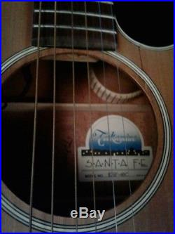Excellent Takamine Santa Fe Acoustic Electric Guitar ESF-60C REDUCED FOR SALE