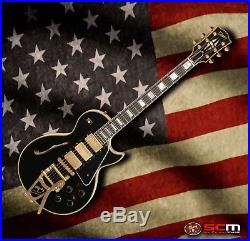 Gibson Es Les Paul Custom Shop Black Beauty VOS Electric Guitar with Bigsby NEW