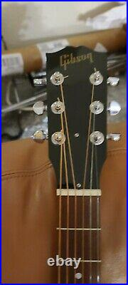 Gibson J-15 Acoustic Electric Guitar With Gig Bag