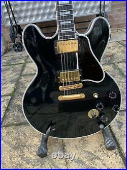 Gibson Lucille B. B. King Signature 335 Semi Acoustic Guitar With Case. 1993