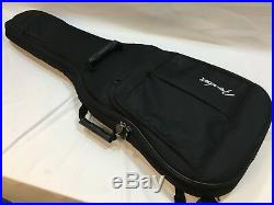 Godin A6 A 6 Ultra Electric Acoustic Guitar Black with Deluxe Fender Gig Bag