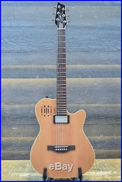 Godin A6 Ultra Natural SG B-Stock Acoustic Electric Guitar withBag #17116162