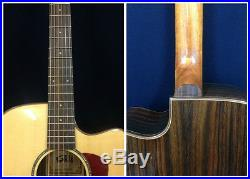 Gosila 8013 Solid Spruce Top Electric-Acoustic Guitar, Natural, Fishman Presys EQ